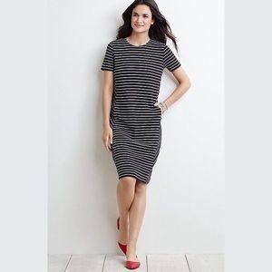 J. Jill | Striped Ottoman Dress Sz S